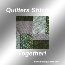 QuiltiersStitchingTogether.com decal inage