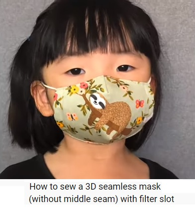 3d seamless mask image